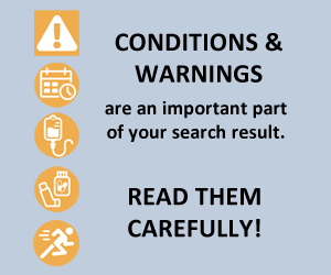 Conditions & Warnings icons