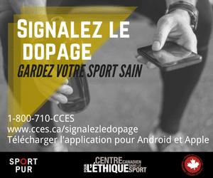 Signalez le dopage